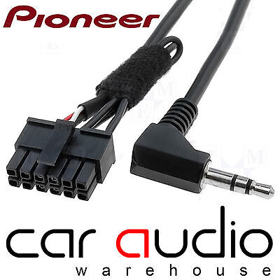 Connects2 CTPIONEERLEAD Stereo Steering Wheel Volume Controls Stalk Patch Lead
