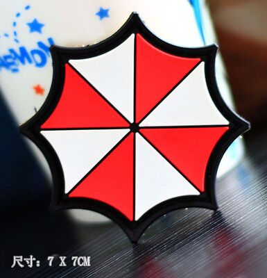 NEW PVC velcro patch Resident Evil Umbrella Corporation MORALE tactical BADGE