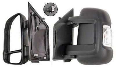 Fiat Ducato 2006 onwards Complete Replacement Passenger Wing Mirror Elec Heated