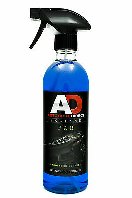 Autobrite Direct Fab Upholstery Cleaner 500ml ~ Car Detail Valet Interior Fabric