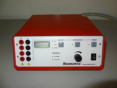Biometra Power Pack P 25T power supplies for Electrophoresis and Blotting system