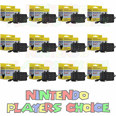 12X Wholesale Lot -  Nes Snes Super Nintendo Ac Power Supply Adapter Cords New