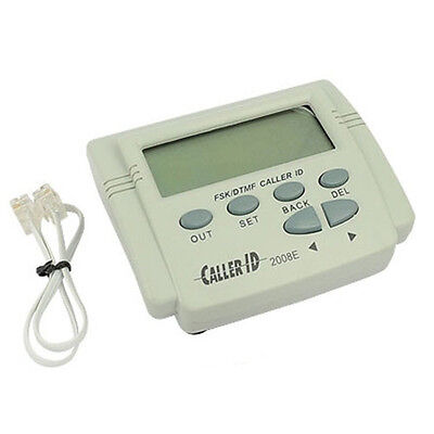Mobile Phone Telephone LCD Display DTMF/FSK Caller ID Box with Cable