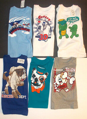 The Childrens Place Infant Toddler Boys T-Shirt Long Sleeve Animals Various Sz