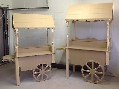 Candy Sweet Cart For Wedding Trolley Market Barrow Fully Collapsible
