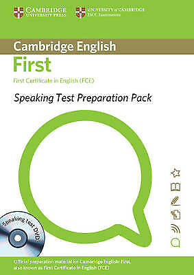 Cambridge SPEAKING TEST PREPARATION PACK for FCE First Certificate with DVD @NEW
