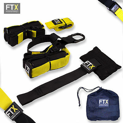 Profi Suspension Trainer/ Schlingentrainer / SlingTraining Basic gelb FTX-2