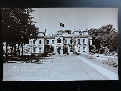 Guernsey: Saumarez Park, The Hostel of St. John - RP Postcard Pub by Norman Grut