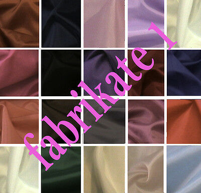 Dress Lining Anti Static Dress Fabric Various Colours available @ £1.99 per mtr.