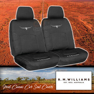 Nissan Navara D22 BLACK Custom Made Seat Covers DX / ST-R 2ROWs 4/1997-15 50%OFF