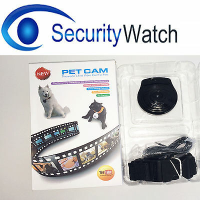 Securty Spy Pet Collar Camera Pet Accessories for Cats, Dogs, Sheep
