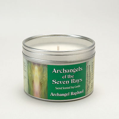 Archangels Of The Seven Rays Raphael Spiritual Calming Aromatherapy Soy Candle