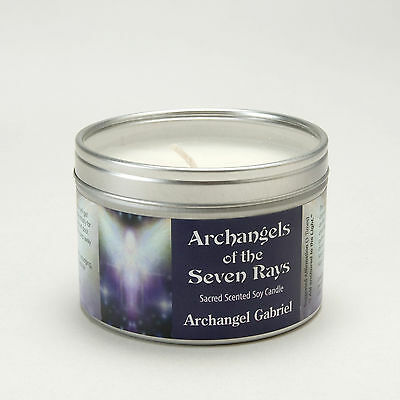 Archangels of the Seven Ray Gabriel Spiritual Aromatherapy Sacred Soy Wax Candle