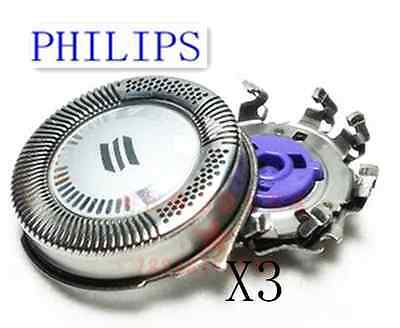 100% Genuine 3 x Shaver Razor Placement Blades Heads for Philips HQ8 PL