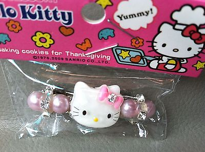 Hello Kitty Hair Barrette Clip Accessory. New In Package. Super Cute. Fast Ship!