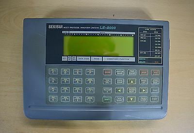 Sekisui Le-2000 Multi  Protocol Analyzer Line Eye