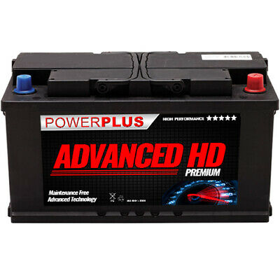 019 Titanium Car Van Battery 12V 100Ah - 4 Year Warranty