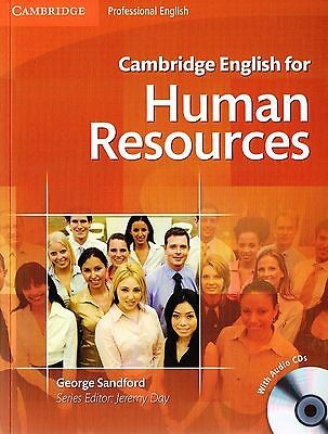 Cambridge Professional ENGLISH FOR HUMAN RESOURCES Student's Book +Audio CDs NEW