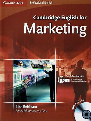 Cambridge Professional ENGLISH FOR MARKETING Student's Book with Audio CDs @NEW@