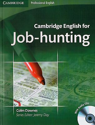 Cambridge Professional ENGLISH FOR JOB-HUNTING Student's Book with Audio CDs NEW