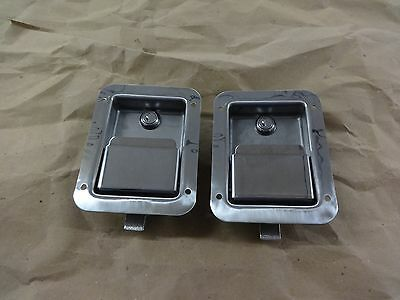 2 Buyers Products L3885 Tool Box Latch Ll71 Lock Stainless Steel Truck Wrecker