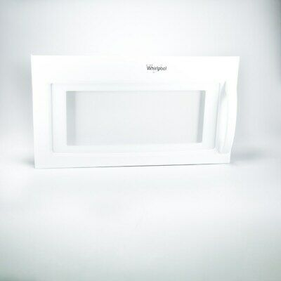 NEW Whirlpool 8206394 MICROWAVE DOOR FACTORY AUTHORIZED