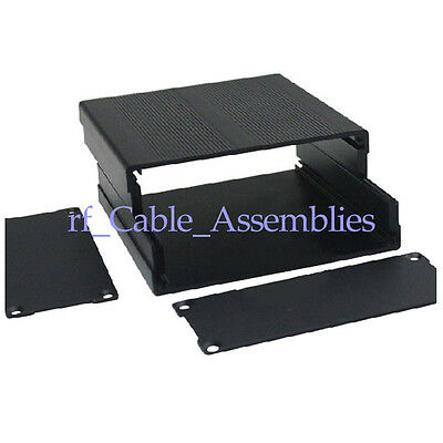 New Aluminum Box Enclosure Case Project electronic DIY black 100*97*40MM(L*W*H)