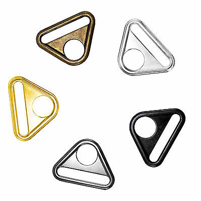 Solid cast large D Ring buckles snap hook adjusters triangle with bar molded APQ