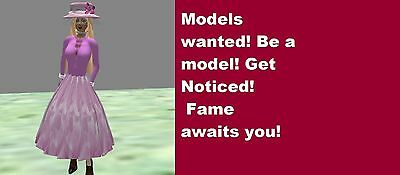 Promotional video for glam models. Be a star, get noticed, fast service