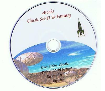 700+ Classic Science Fiction SF Sci Fi eBooks for Kindle, Kobo Sony Readers etc