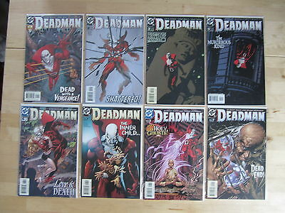Deadman #1, 2, 3, 5, 6, 7, 8, 9-*missing #4* 2002 3Rd Series-Mike Mignola Covers