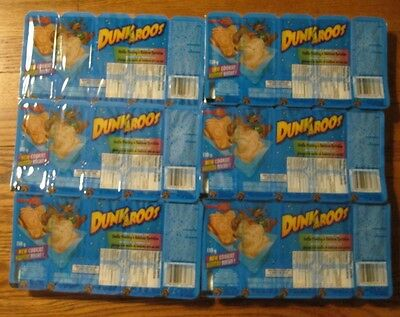 6 Packs Dunkaroos 30 TOTAL Cookies Vanilla Icing FROM Canada FREE USA SHIP
