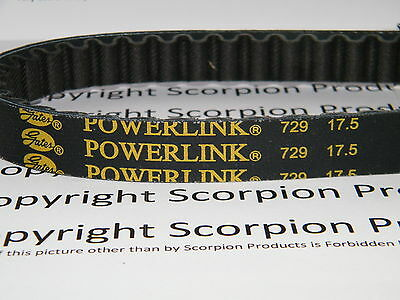 Scooter Belt Gates Power Link 729-17.5-30 GY6 139QMB 50cc Chinese Scooter Parts