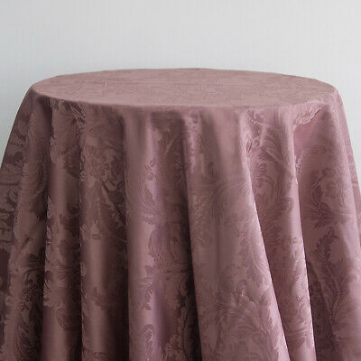 Damask Tablecloths And Napkins 10 Colors , 3 Sizes Wedding Tablecloth Events