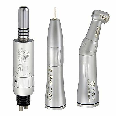 NSK Style Inner Water Dental Low Speed Handpiece Contra Angle Air Motor Kit M4