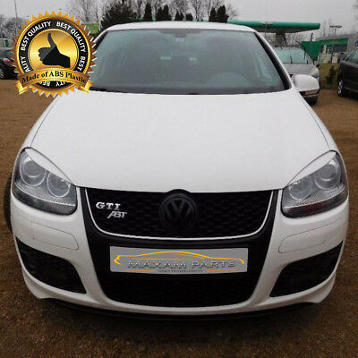-= VW GOLF V 5 MK5  Headlight light lids brows eyebrows eyelids = ABS = NEW =-