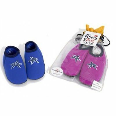 BABY TODDLERS WATER SOCKS SANDALS for SWIMMING SWIM PADDLING BEACH - AQUA SHOES
