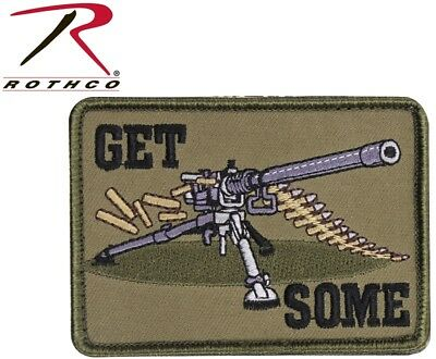 "GET SOME HOOK BACKING TACTICAL Military & Airsoft PATCH 2.5"" X 3.5"" 72208"