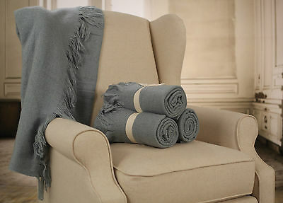 Throw Rug Soft Touch Throw Blanket Decorative Bedding Blanket 127x150cms. NEW