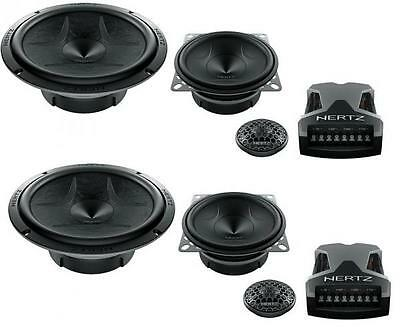 "Hertz Energy ESK 163L.5 3 Way Component Speaker Set 6.5"" 4"" 1"" 375w"