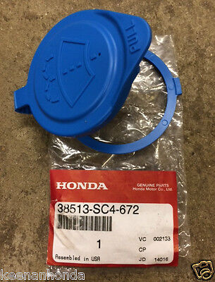 Genuine OEM Honda Windshield Washer Bottle Cap Large Ring Lid Cover