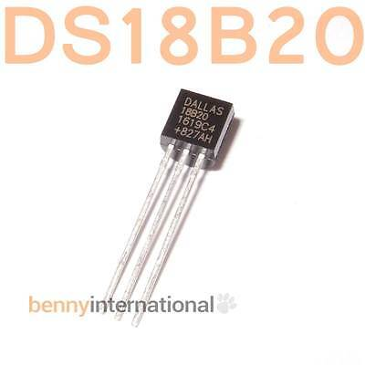 DS18B20 DIGITAL TEMPERATURE SENSOR 1-Wire Thermometer Arduino AVR PIC Triode