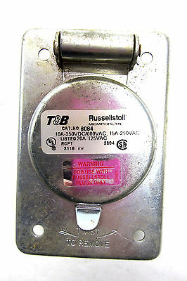 Used T & B Russellstoll  8084  Receptacle