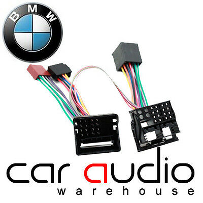 Connects2 BMW Mini 2003 On Bluetooth Parrot SOT T-Harness ISO Adaptor
