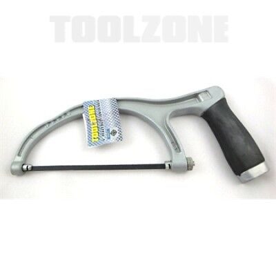 "Toolzone 150mm 6"" Heavy Duty Alumiunium Junior Hacksaw"