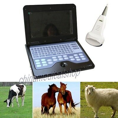 2014 NEW Veterinary VET Use Laptop Ultrasound Scanner with 3.5 MHz convex probe