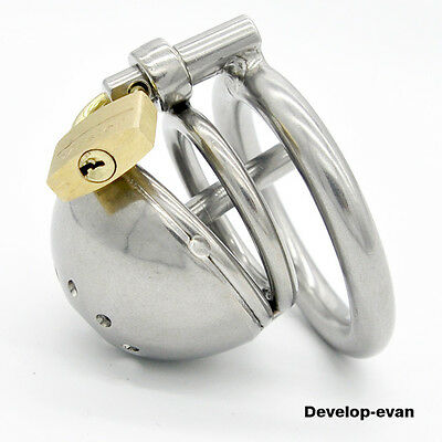 Latest Design Stainless steel Male Boundage chastity Shortest Cage A127