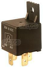 6V 20 Amp 4 Pin Terminal Mini Relay Switch With Bracket Car Boat Cargo 160652