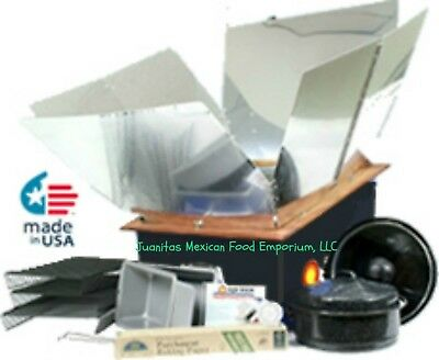 All American Sun Oven + Dehydrating & Preparedness Package Portable Solar Oven