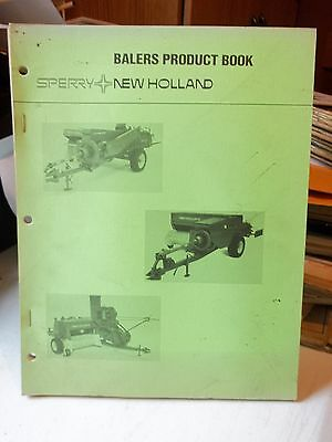 Sperry New Holland Balers Product Book Issued May 1976